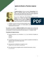 Álgebra de Boole y Puertas Lógicas