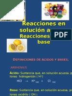 Presentación Acidos- Bases