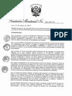 MINTRA - Resolución Ministerial N° 106-2015 - Plan de Actuación para la mejora de la Empleabilidad e Inserción Laboral de Personas con Discapacidad a través del Centro de Empleo