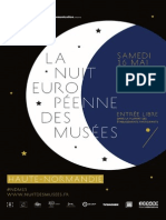 Programme 2015 de la nuit européenne des musées