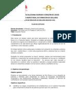 Plan de Estudio-Orfandad y Pobreza. Casa Don Bosco 2015