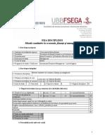 EME0388 IBM RO Metode Cantitative in Economie, Finante Si Management