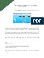 Cara Setting PCSX2 1.2 Full Speed