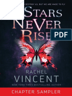 The Stars Never Rise by Rachel Vincent