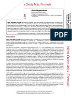 nitro oxide clinical applications