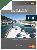 MasterCard Platinum Argentina Agosto 2013