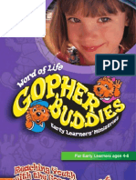 Word of Life Gopher Buddies Preschool Ministry Program Overview