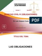 1. Derecho Civil IV Obligaciones