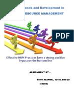 HRM Assignment 11.08.14