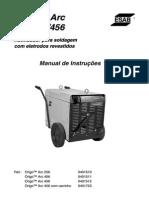 Manual de Operación ESAB Origo Arc-256-406-456