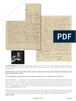Largest Auction of Einstein Letters Ever June '15