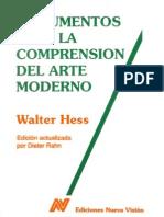 HESS Walter Documentos Para La Comprension Del Arte Moderno