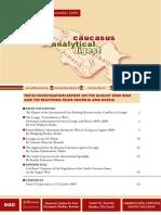 Caucasus Analytical Digest 10
