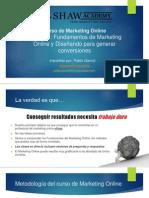Lección 1-Fundamentos Del Marketing Online y Diseñando Para Generar Conversiones