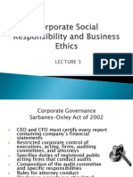 Lecture 3 - Csr & Business Ethics