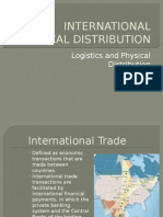 International Physical Distribution Logistics and Ipd