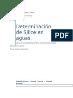 Informe Determinacion de Ortofosfatos