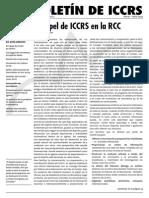 Boletin ICCRS Marzo-Abril 2009