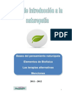 Introducción a La Naturopatía
