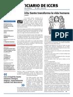 Boletín ICCRS Mayo y Junio 2013