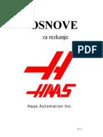 Haas Programiranje Rezkanje - Slo