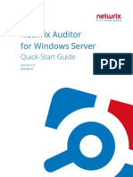 Netwrix Auditor for Windows Server Quick Start Guide