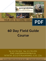 60 Day Field Guide Course