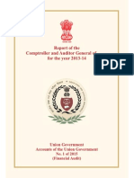 Report  1 of 2015 of the CAG for 2013-14