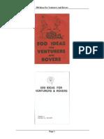 500 Ideas Para Raiders y Rovers
