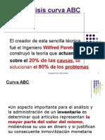 Analisis Curva ABC