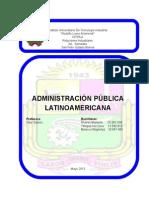 Administracion Publica Latina