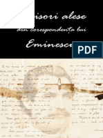 Scrisori Alese Din Corespondenta Lui - Mihai Eminescu