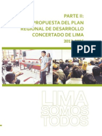 Propuesta de Plan - Lima