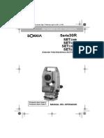 Manual Sokkia Set630r - Español