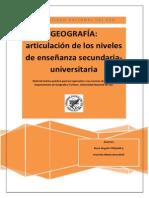 Ingreso Geografia UNS 2015