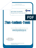 Beyond Europe Project Outline 2010-01