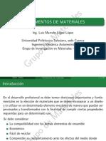 Presentación Fundamentos de materiales