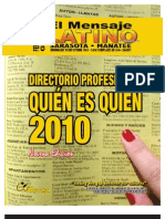 El Mensaje Latino Feb. 2010