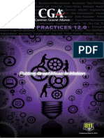 CGA Best Practices 2013