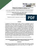 Avaliacao Ergonomica Das