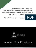 Unidad 1_Int. a La C. Económica Parte I