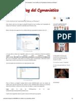 Como Modificar Las Propiedades Del Sistema en Windows 7