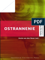 Ostrannenie on Strangeness and the Moving Image the History, R
