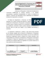 Manual de ORGANIZACION 20-02-2013 Consejo Directivo