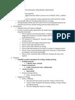 writing findings, strategies, resources