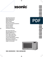 Manual Microondas Panasonic