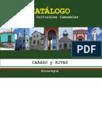 2.-Catalogo Bienes Culturales Inmuebles Departamentos de Rivas y Carazo