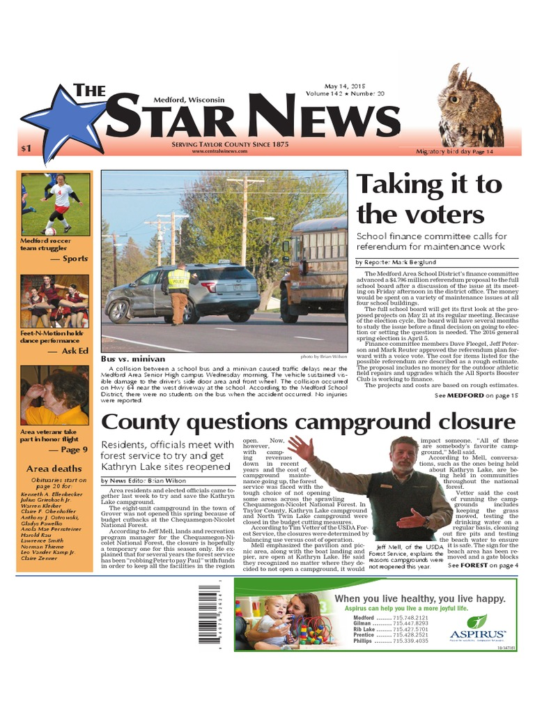 the star news may 14 2015 campsite libraries