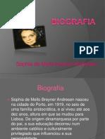 Sophia de Mello Breyner Andresen.
