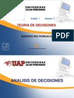 TEORIA DE DECISIONES